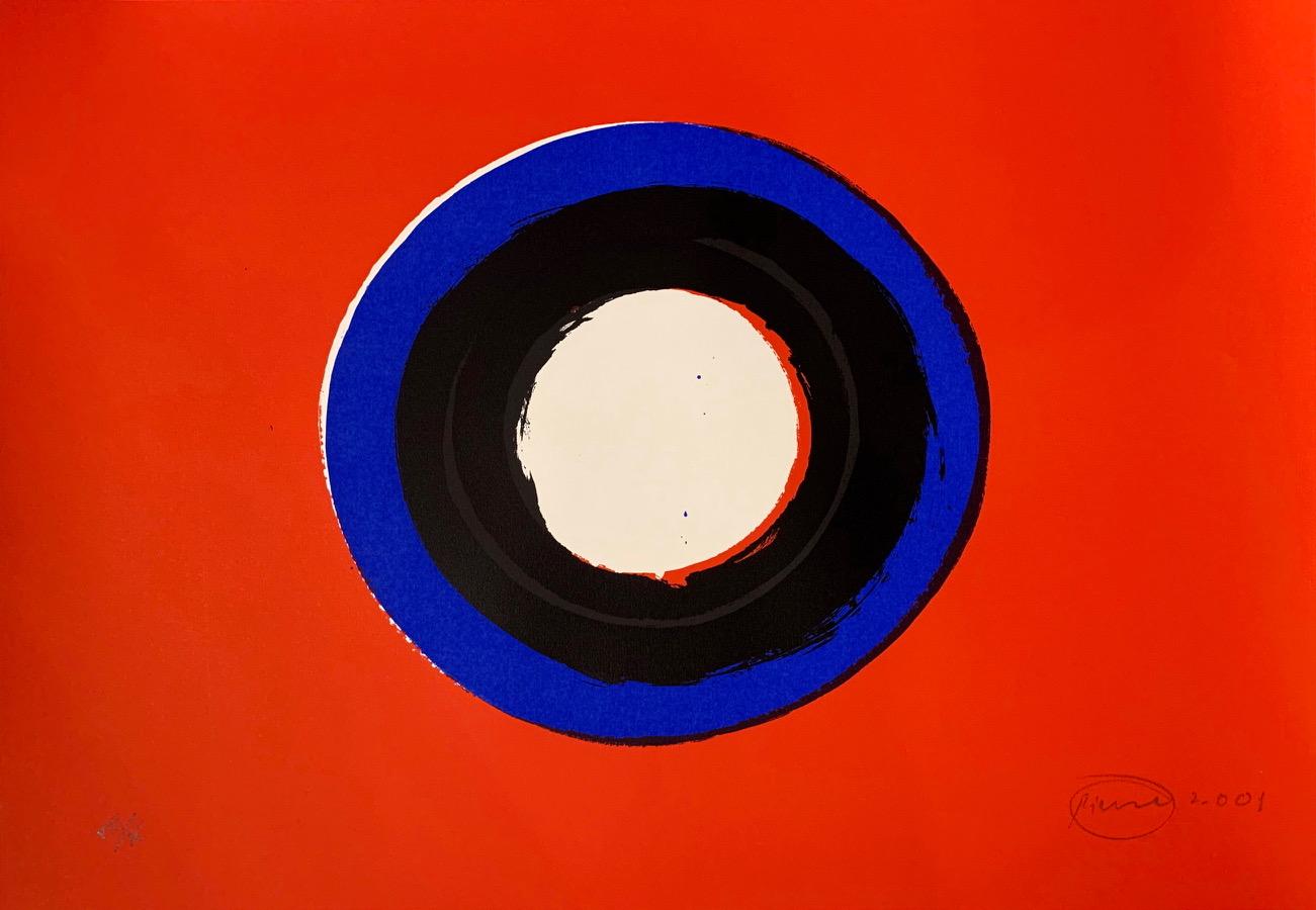 Otto Piene, Blue Moon#1 (ungerahmt), Auflage 50, 2001