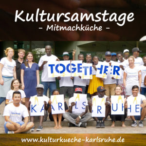 KULTURSAMSTAG: Together Karlsruhe!